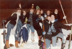 Broomball team 'The Sails' 1981